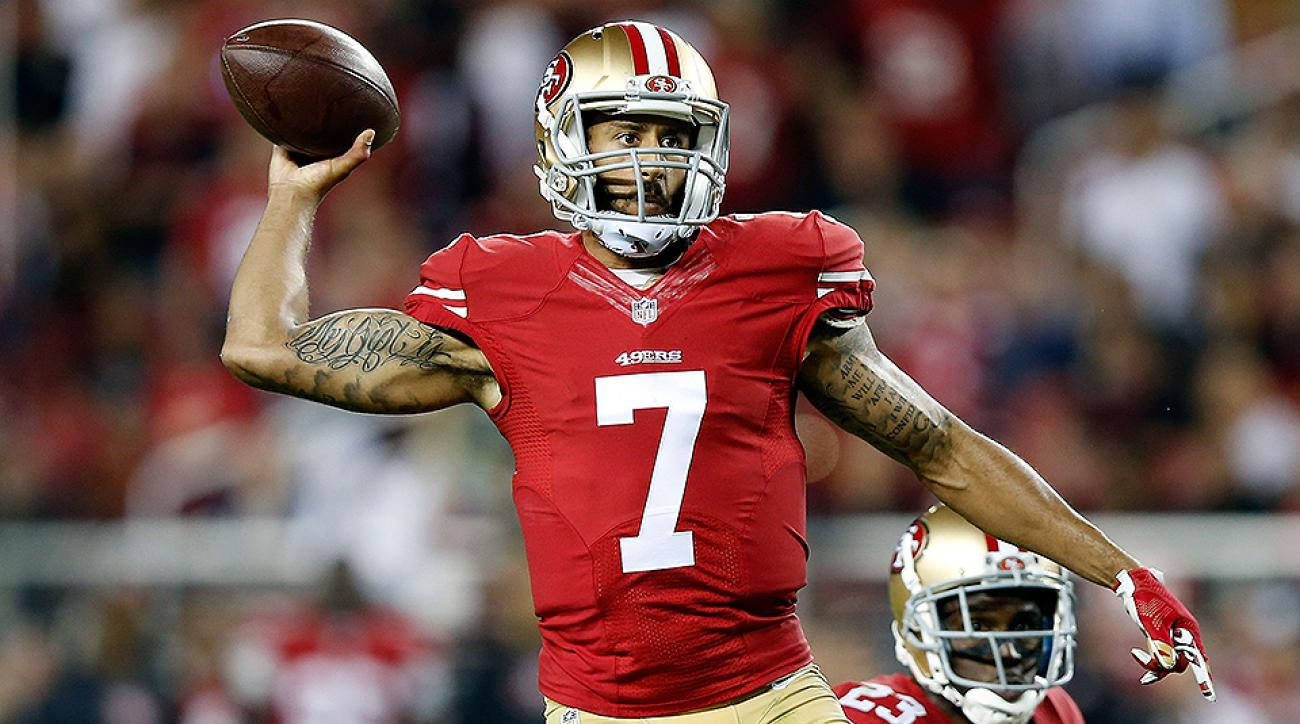 Audibles Podcast: Kaepernick, Titans draft, Dilfer interview