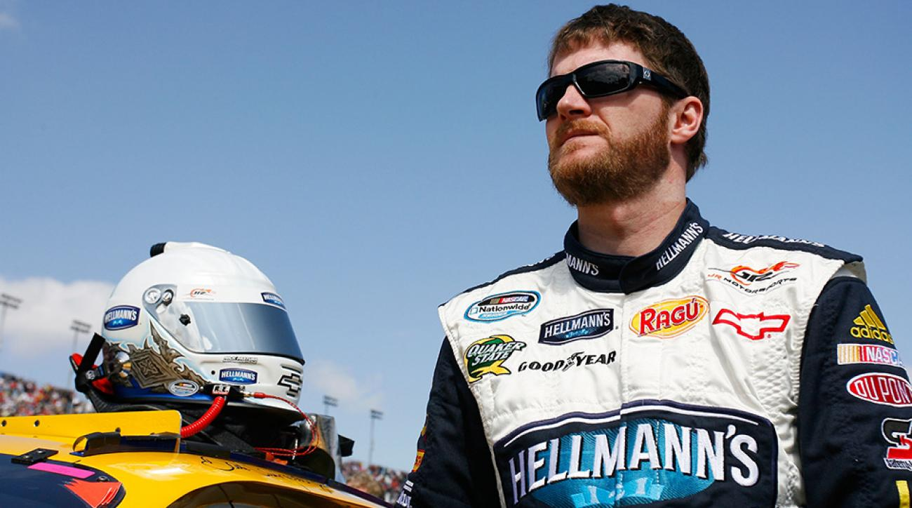 dale earnhardt jr banana mayonnaise sandwich