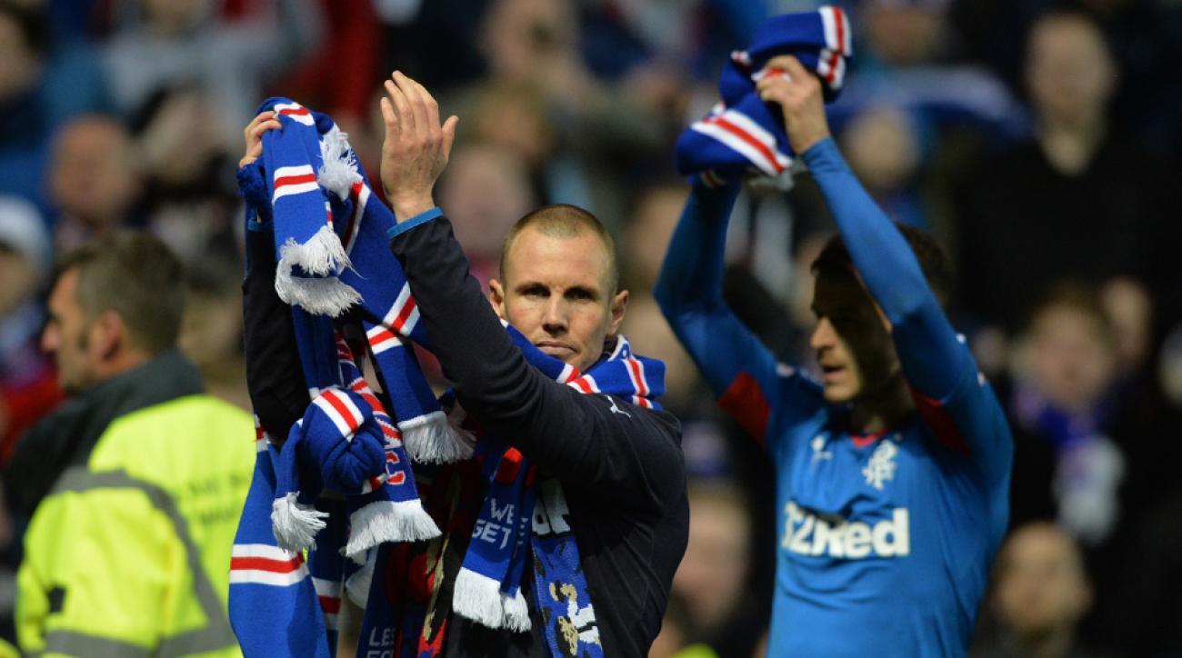 Rangers secured promotion to Scotland's Premier League