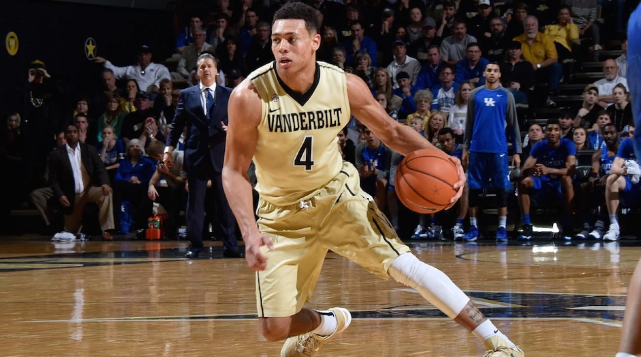 wade baldwin vanderbilt enter nba draft