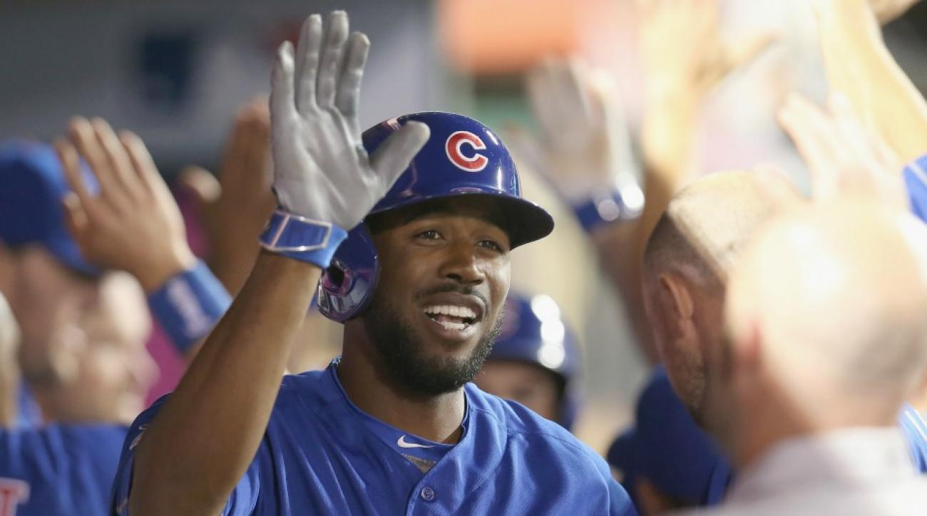 Chicago Cubs' Dexter Fowler's daughter was excited to see him on TV
