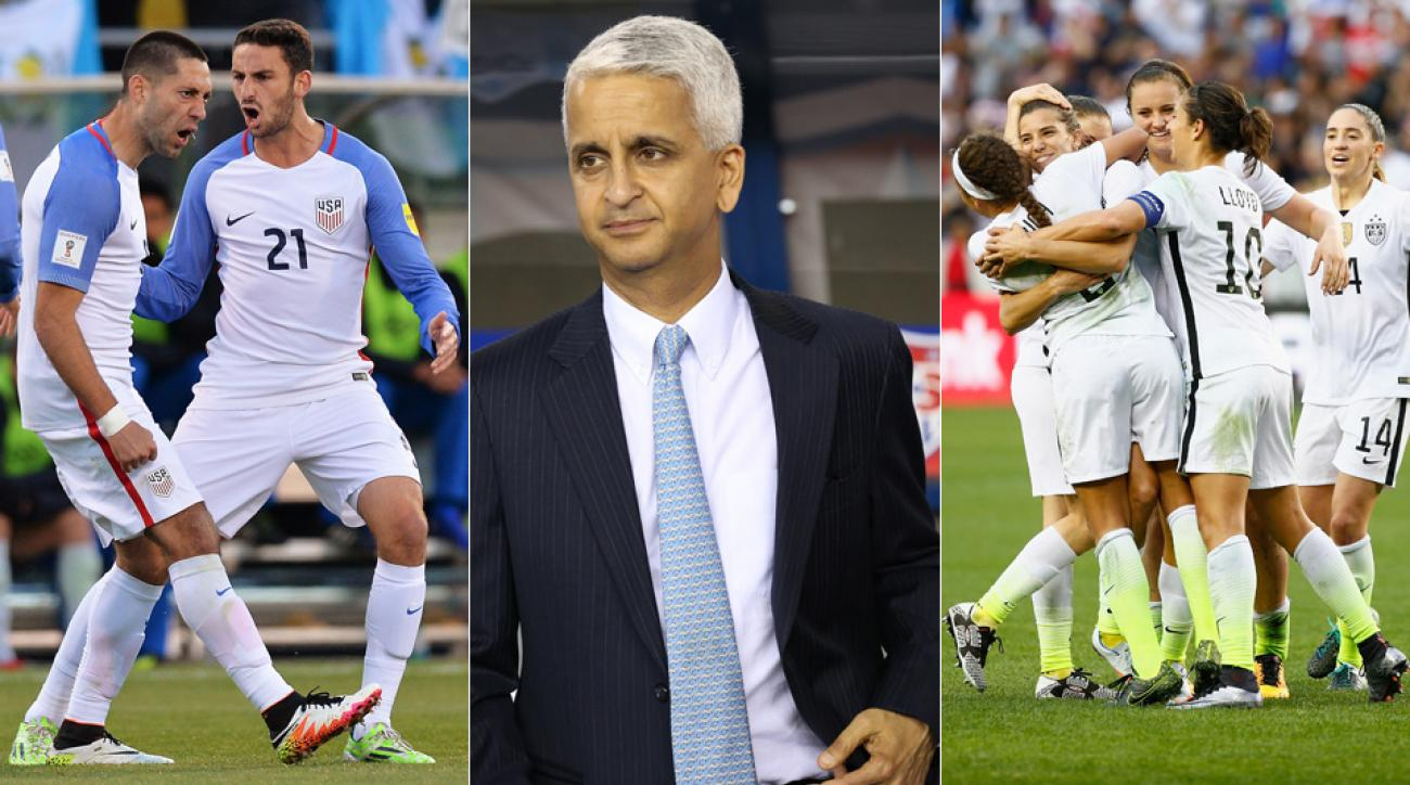 U.S. men's national team, U.S. Soccer president Sunil Gulati, U.S. women's national team