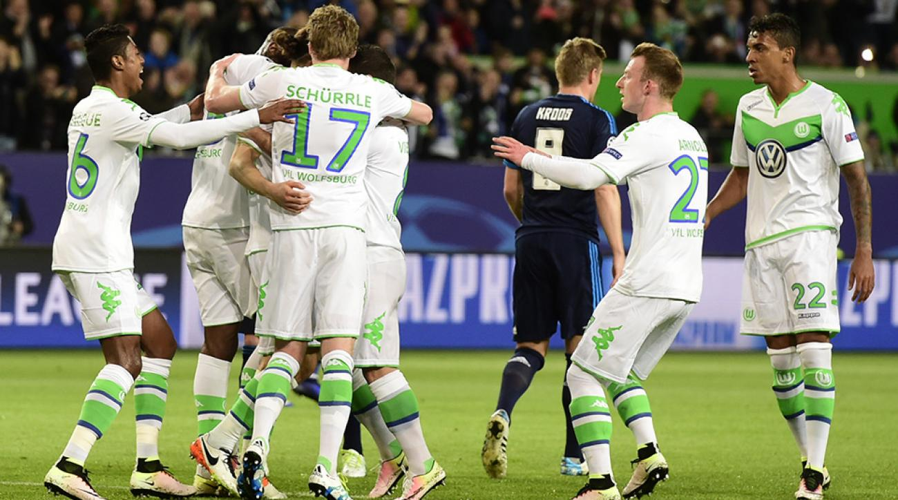 wolfsburg real madrid highlights champions league ronaldo video