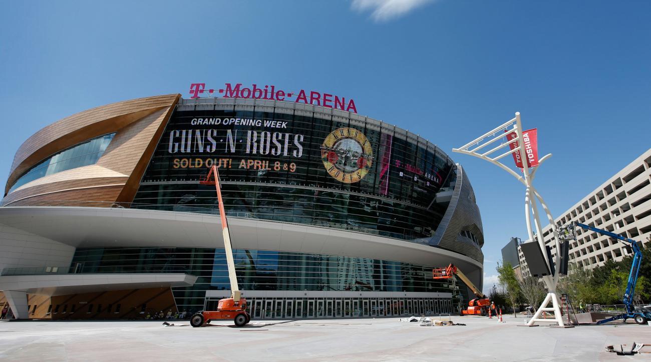 la kings preseason games vegas new arena
