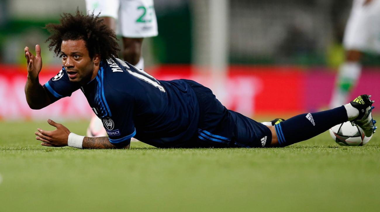 Marcelo's dive in the Champions League for Real Madrid has him in hot water