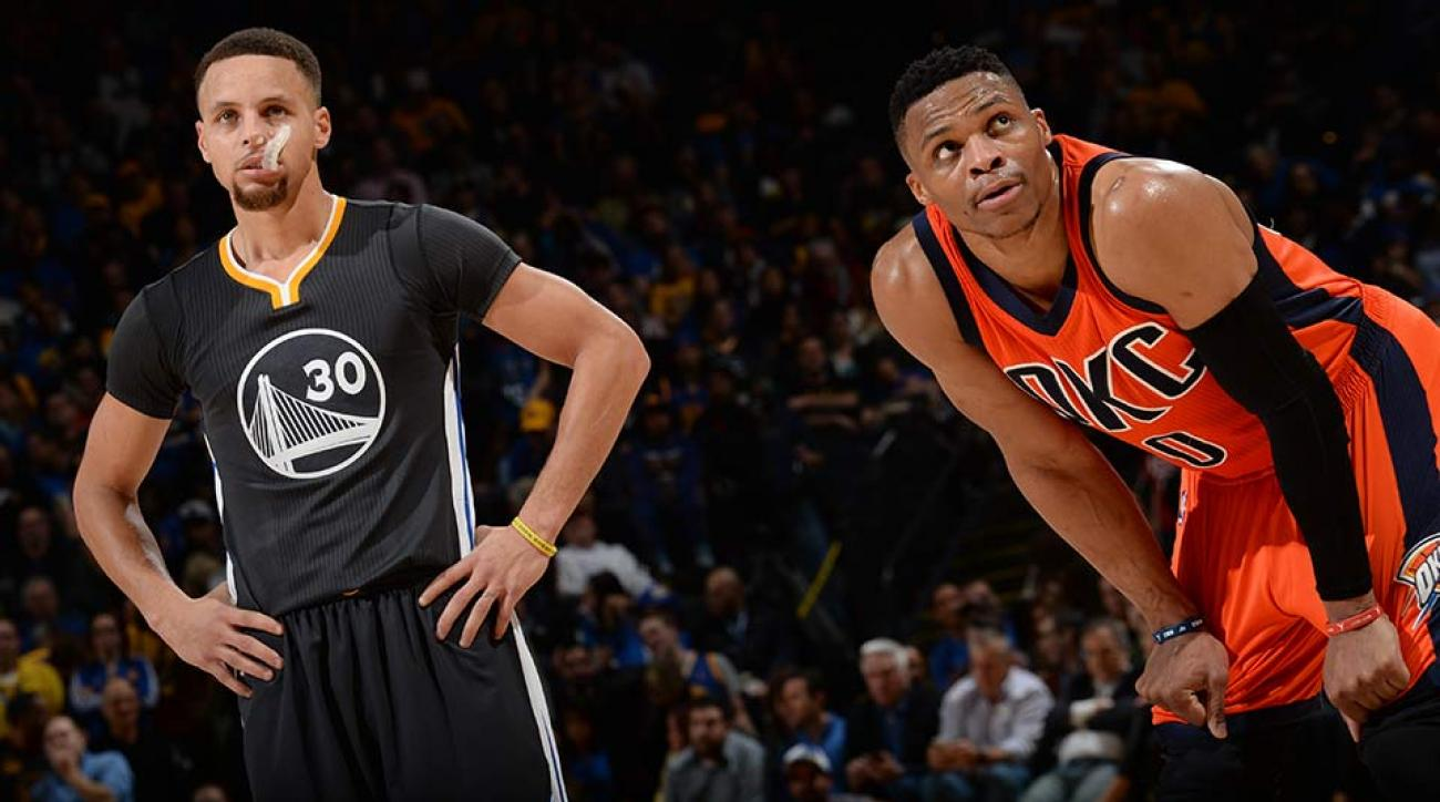 Stephen Curry; Russell Westbrook