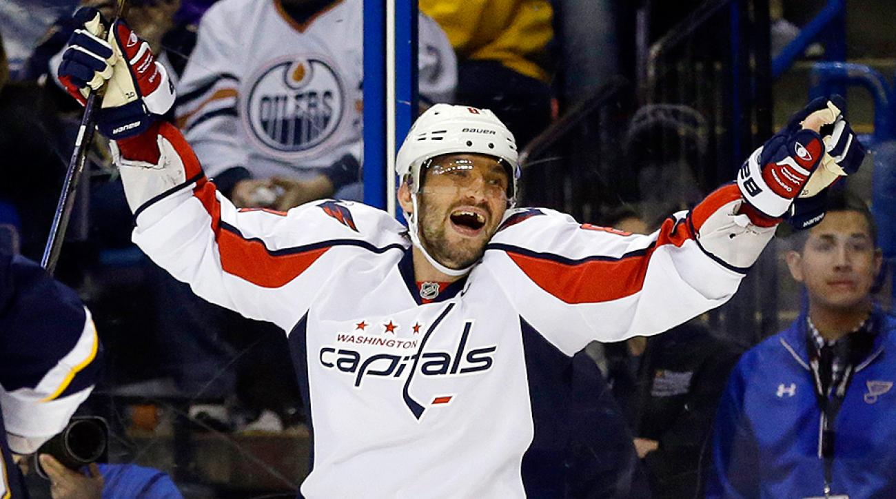 Alex Ovechkin scores 50th goal of season on hat trick vs. Blues