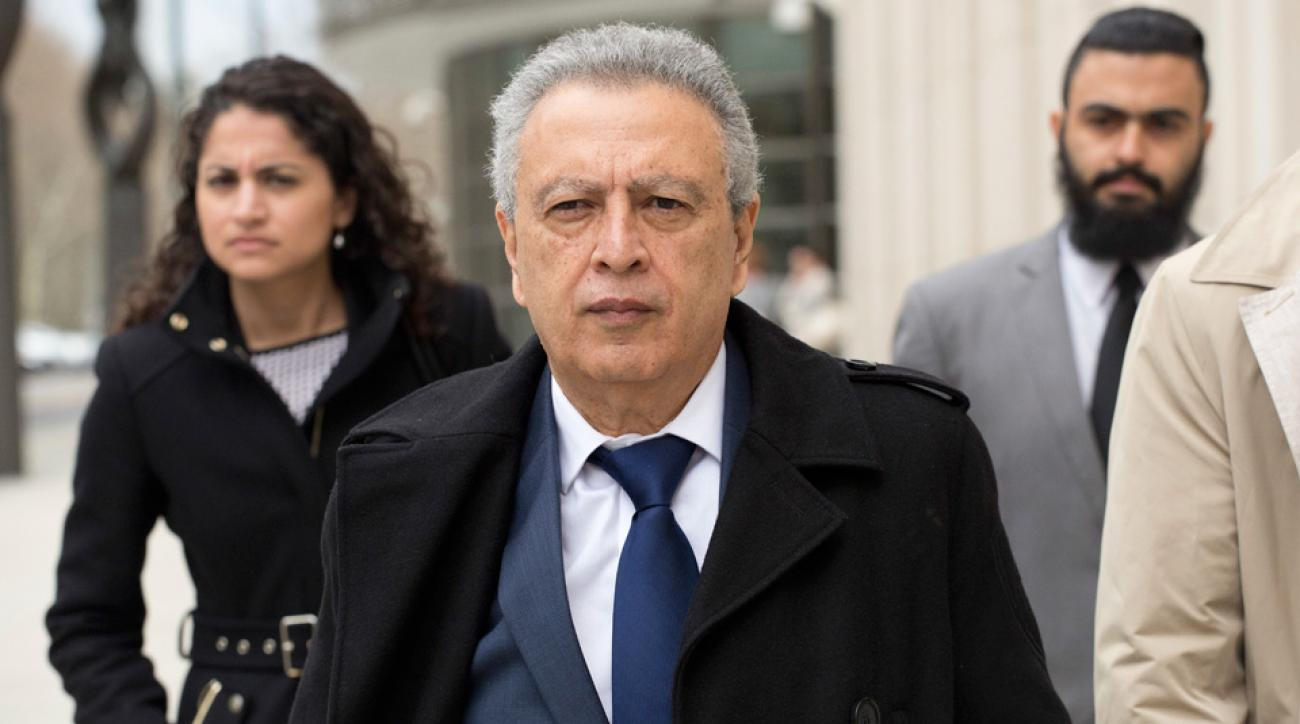 Alfredo Hawit pleads guilty to bribery charges connected to the FIFA scandal
