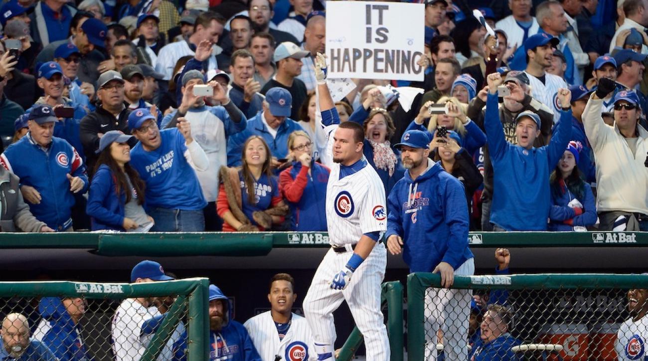 kyle schwarber cubs home run ball video