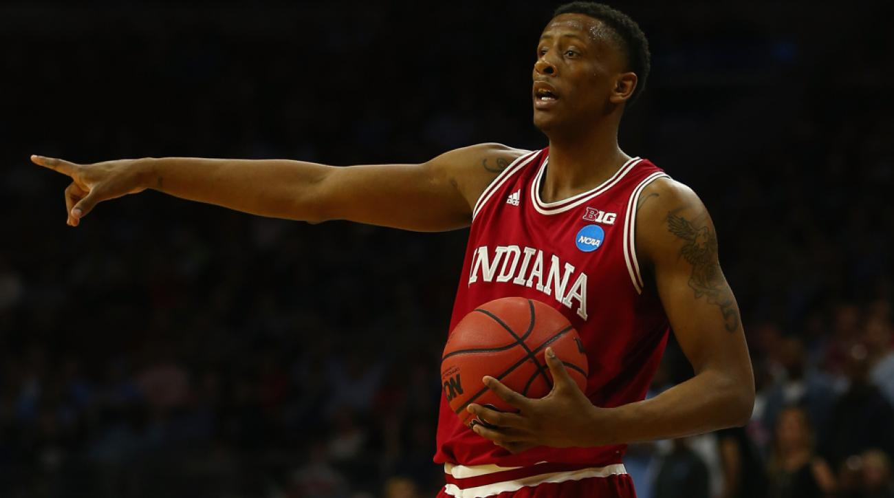 troy williams declares nba draft indiana