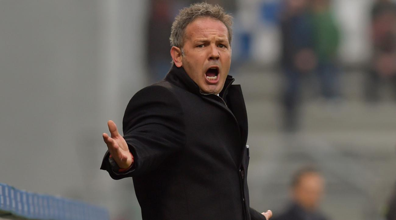 Sinisa Mihajlovic was fired as manager of AC Milan