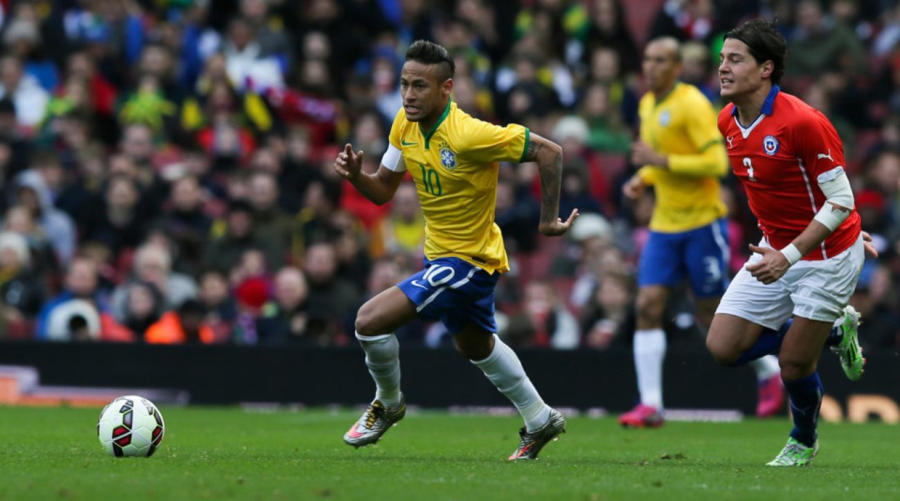 Neymar is slated to appear in just the Olympics and not Copa America for Brazil this summer