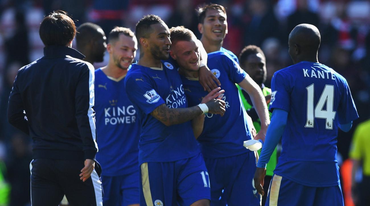 Leicester City nears an improbable Premier League title