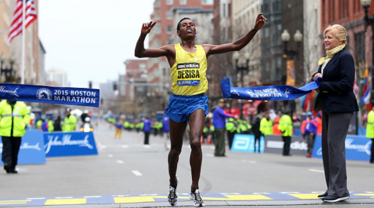 lelisa desisa 2016 boston marathon preview