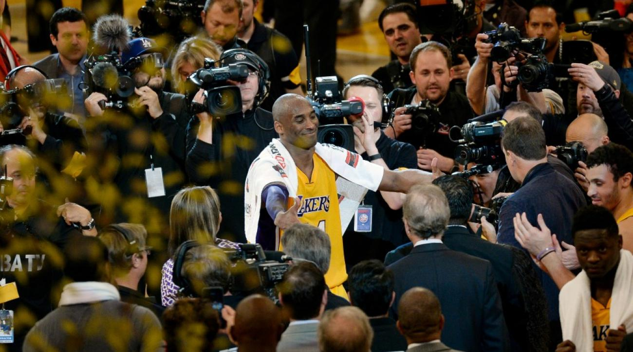 Kobe Bryant began selling Mamba Out shirts immediately after the game