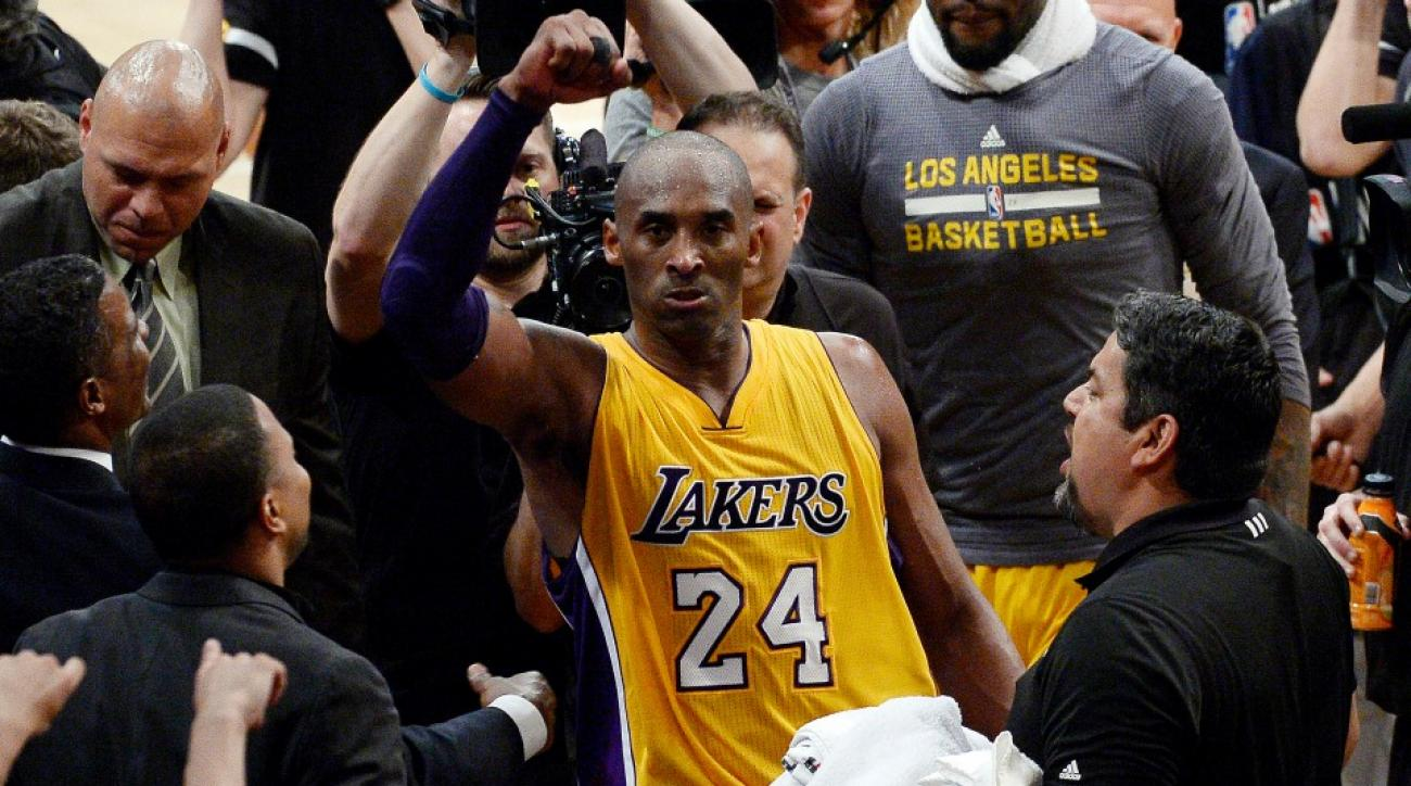 Rams, Titans delayed trade announcement for Kobe Bryant's final game