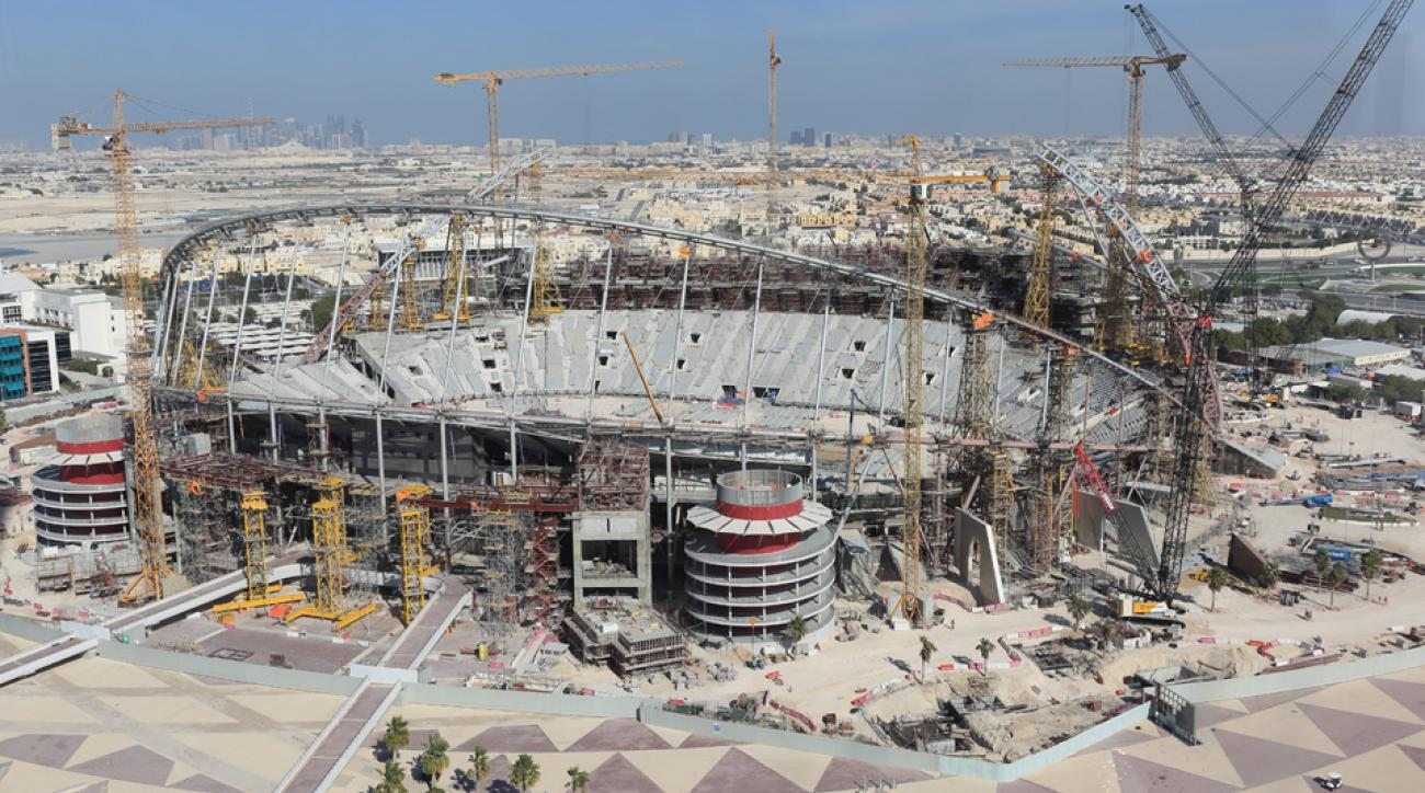 One of Qatar's 2022 World Cup stadiums in Doha
