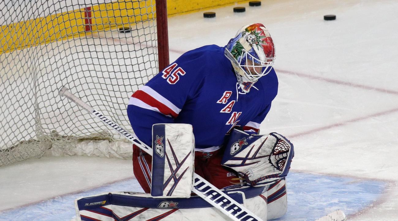 Rangers recall Magnus Hellberg