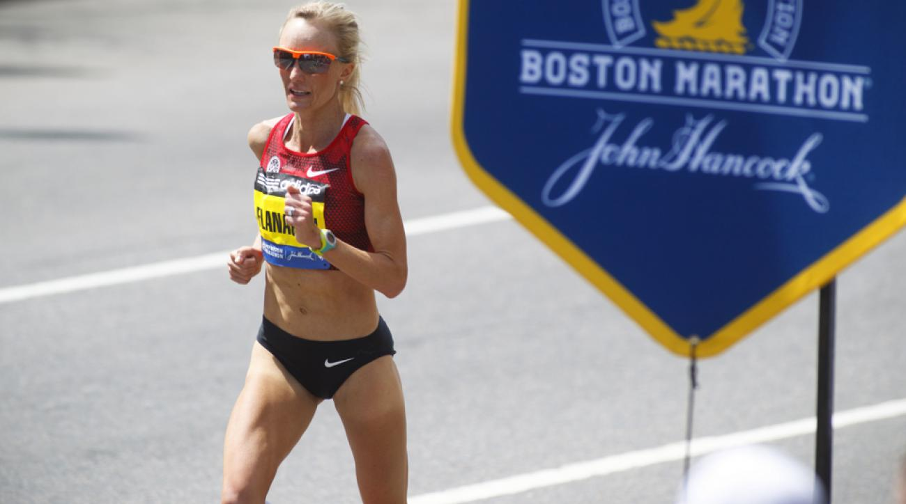 shalane flanagan boston marathon course tips