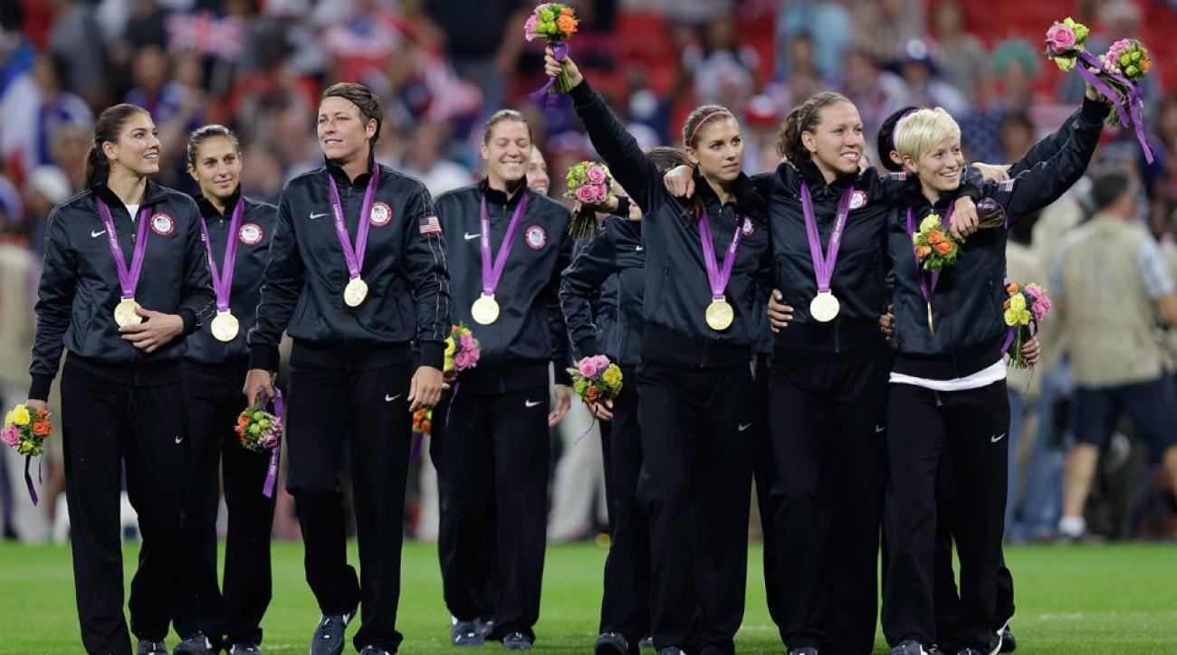 The U.S. women's national team will defend its gold medal in Rio de Janeiro