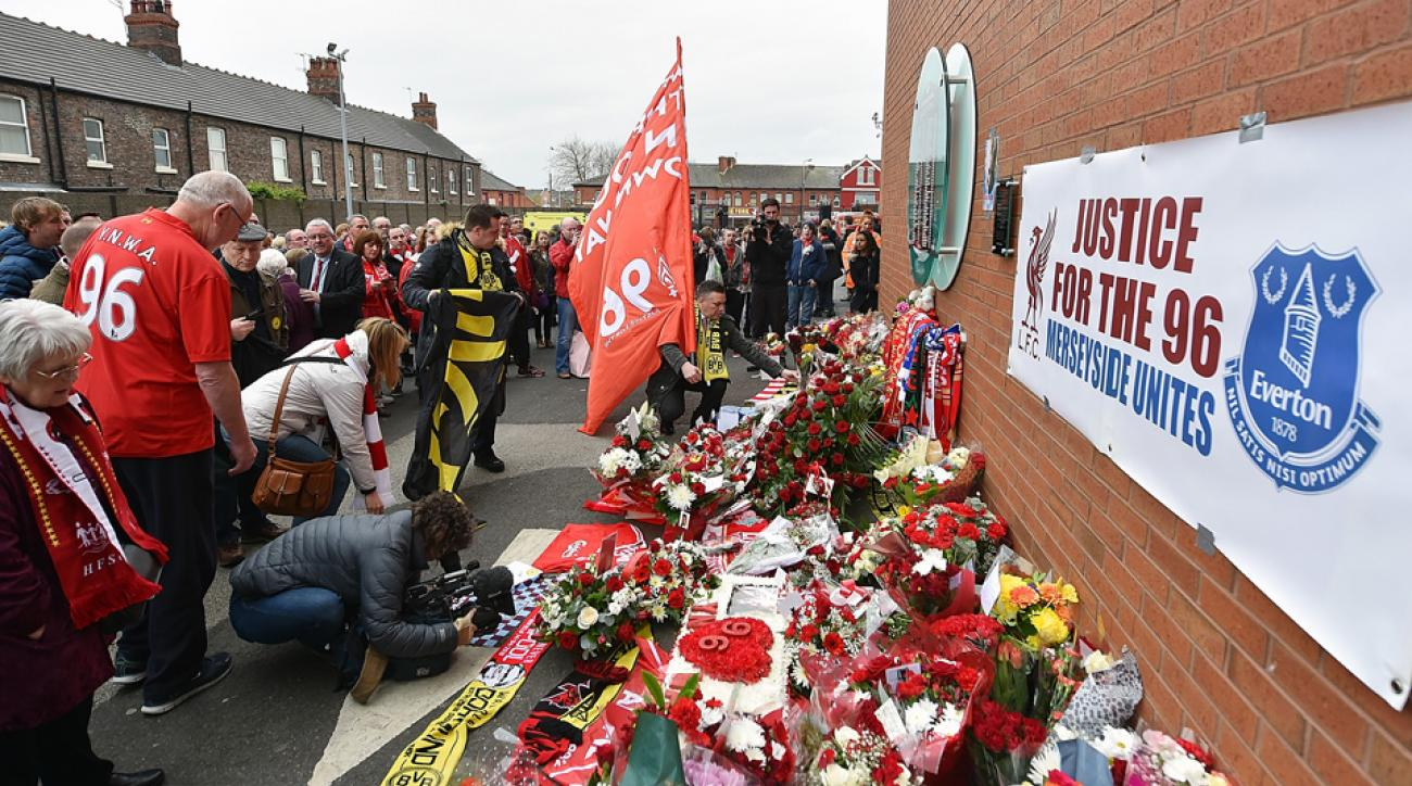 Liverpool holds a final memorial service for the victims of the Hillsborough tragedy