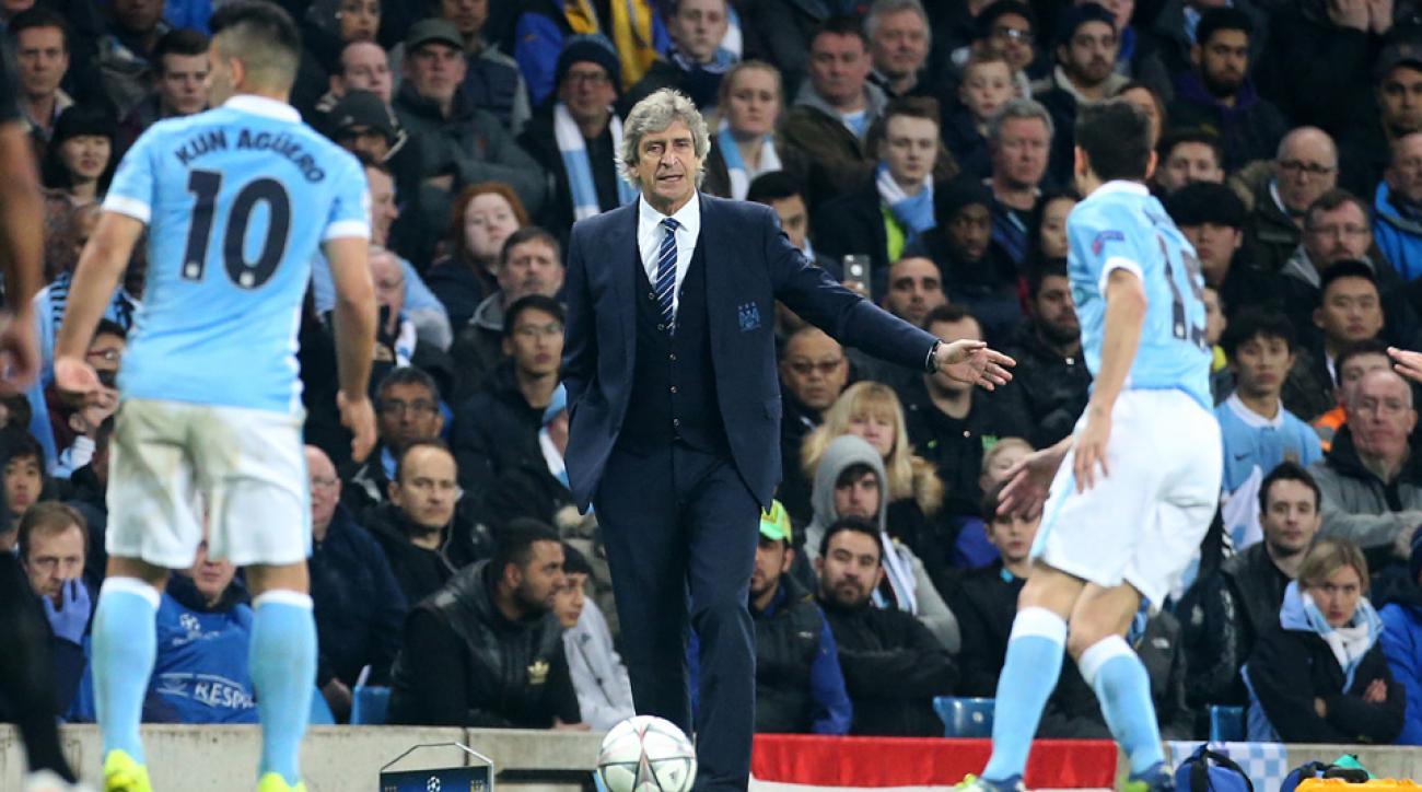 Manuel Pellegrini has Manchester City in the Champions League semifinals