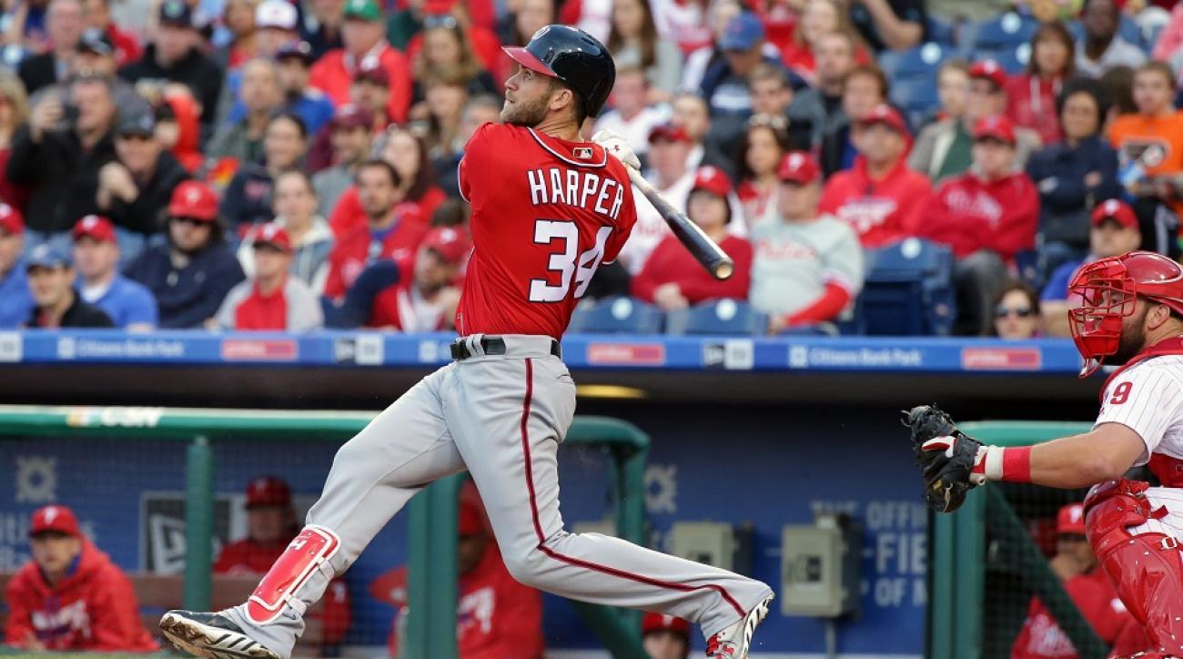 bryce harper home run phillies