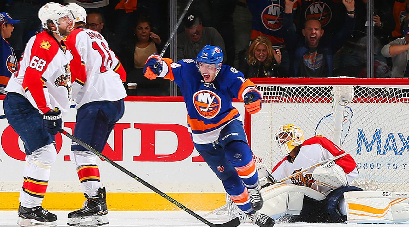 Stanley Cup Playoffs: Thomas Hickey scores for Islanders in OT vs. Panthers