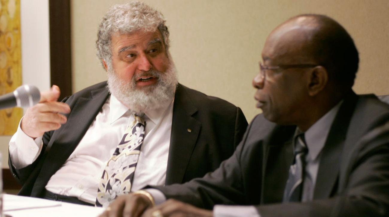 Ex-CONCACAF and FIFA executives Chuck Blazer and Jack Warner