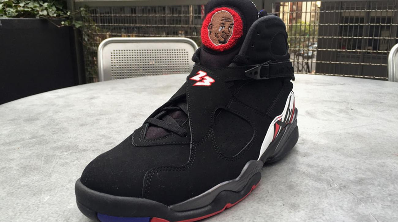 crying jordan meme sneakers photos