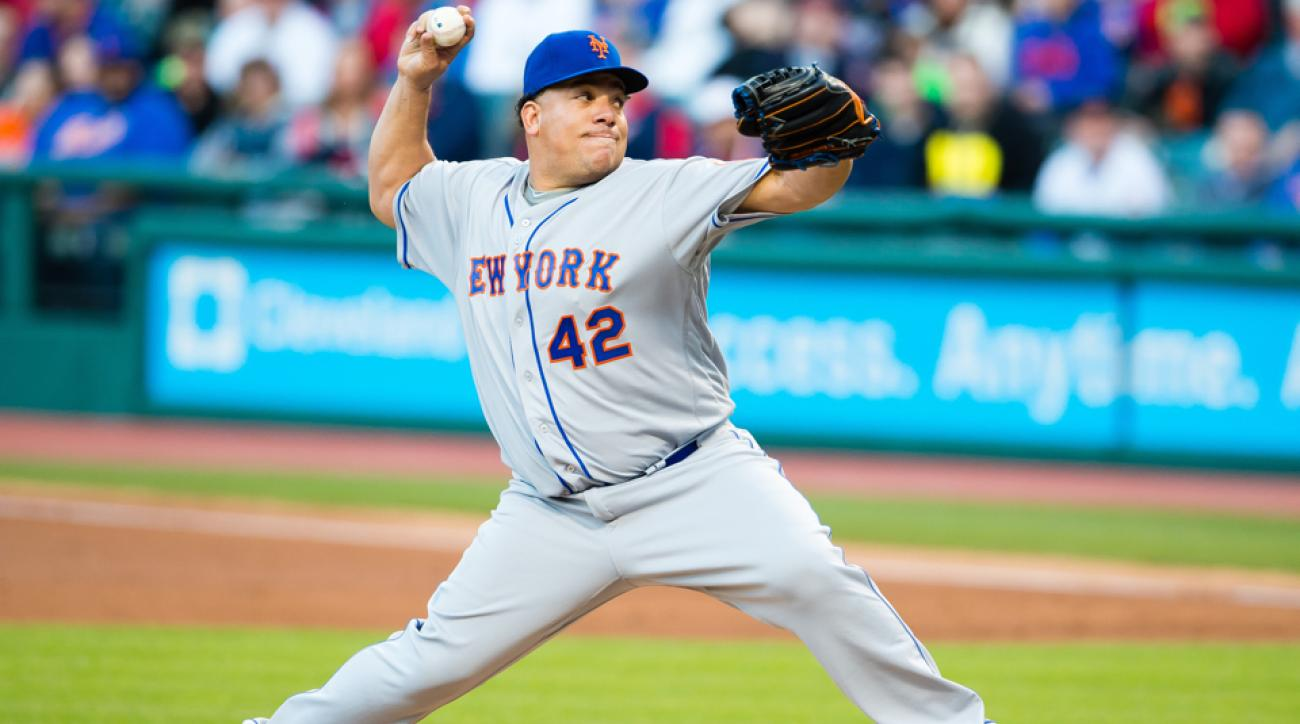 bartolo colon second most wins dominican pitcher mets