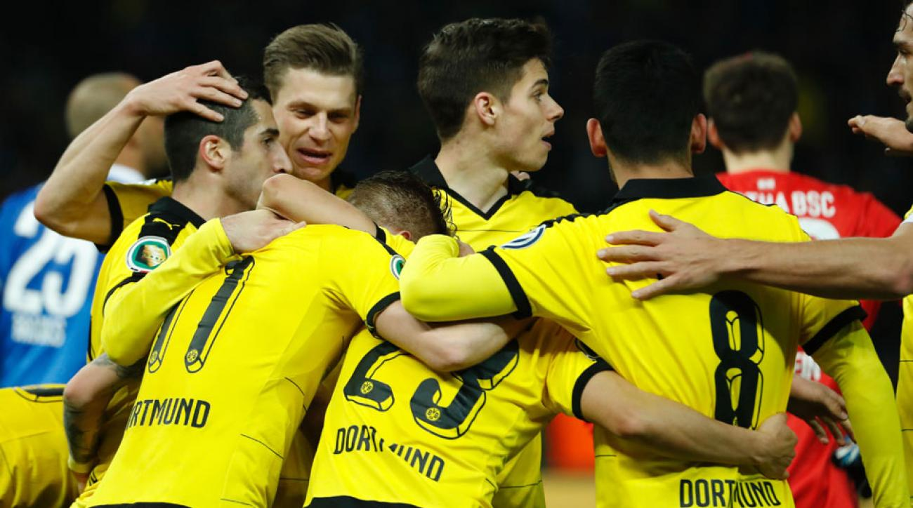 Borussia Dortmund beats Hertha Berlin to reach the final of the DFB Pokal