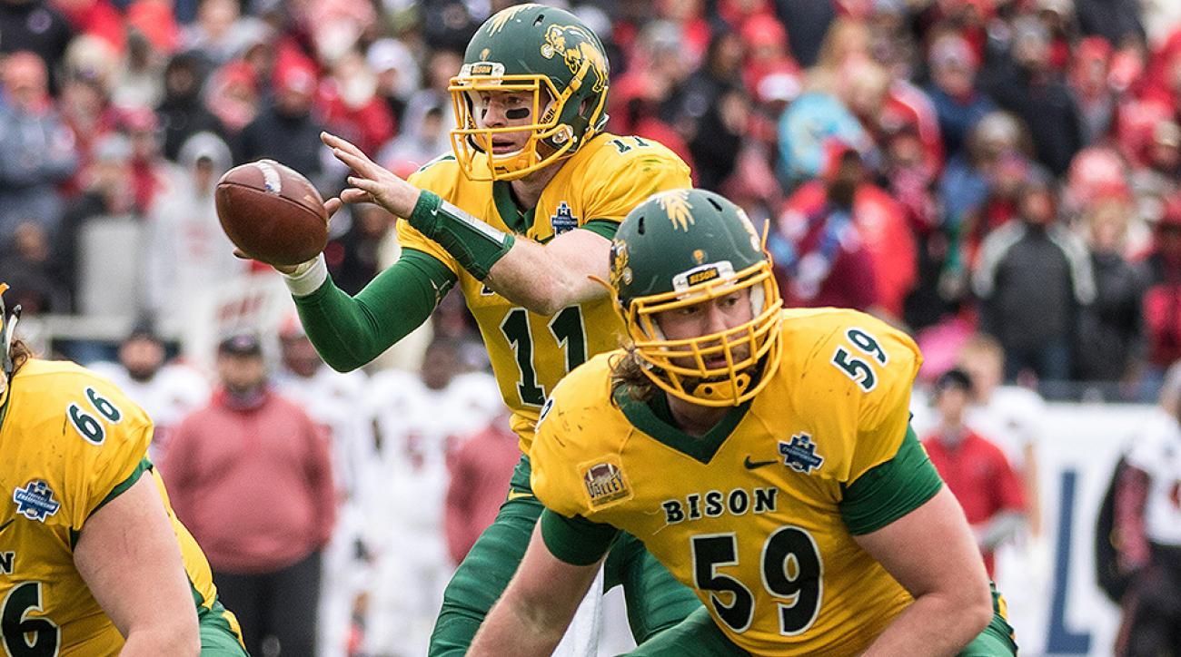 NFL draft: Joe Haeg, Carson Wentz's North Dakota State teammate, eyes NFL