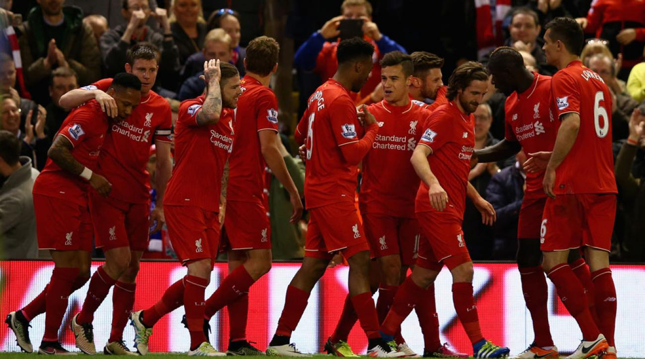 Liverpool beats Everton 4-0 in the Merseyside derby on Wednesday