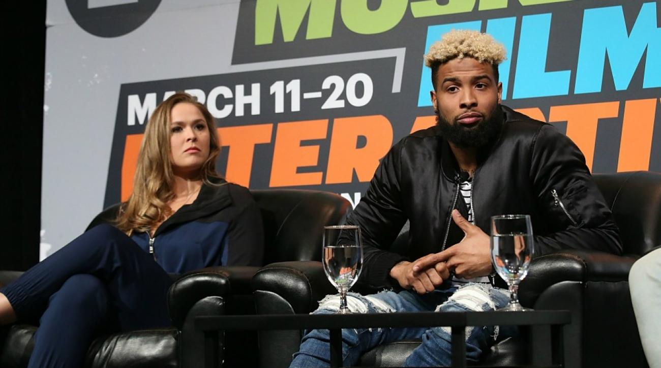 Ronda Rousey and Odell Beckham talk Game of Thrones