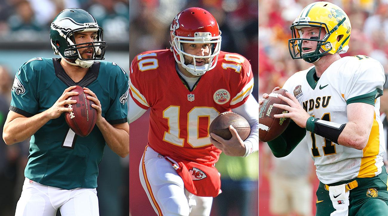 Bradford, Daniel and Wentz could be make for a very expensive Eagles' quarterback depth chart come September.