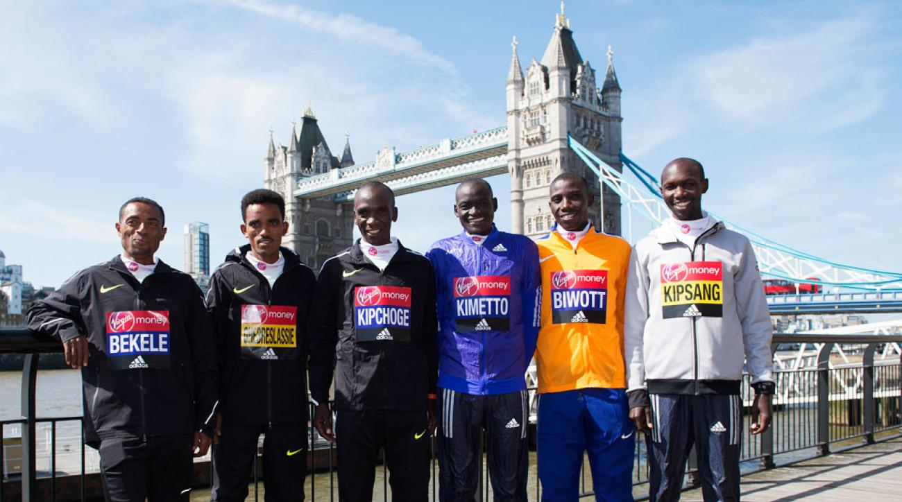 2016 London Marathon preview eliud kipchoge wilson kipsang dennis kimetto