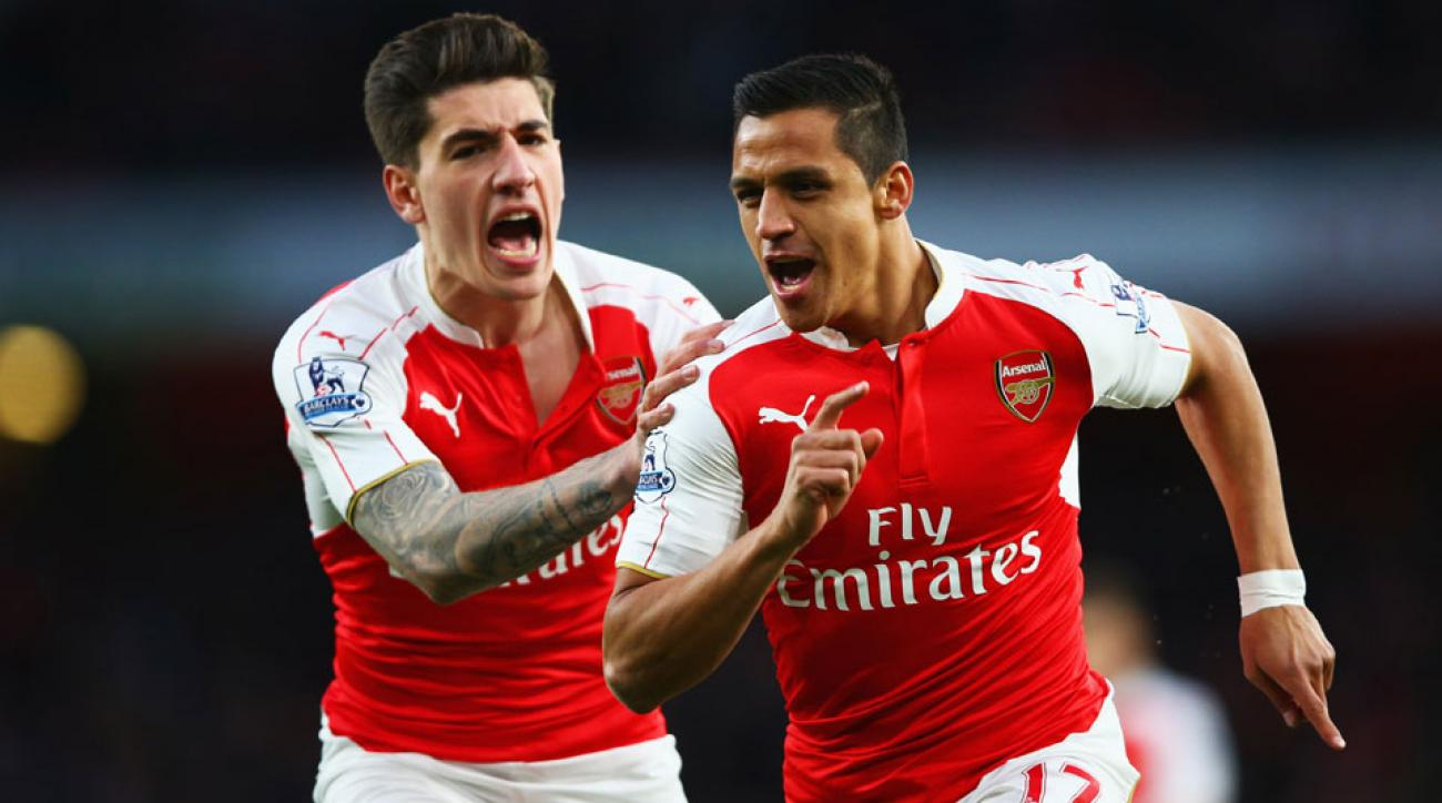 Alexis Sanchez scores two goals in Arsenal's 2-0 win over West Brom