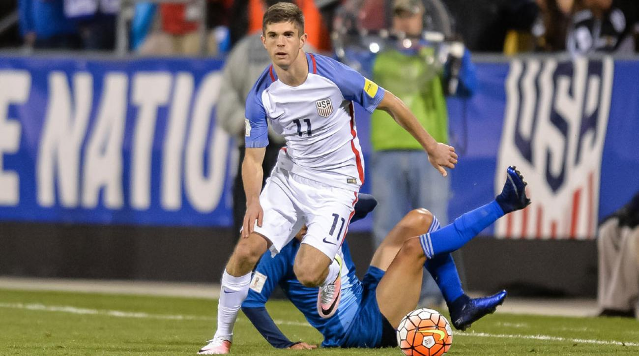 Christian Pulisic has impressed USA manager Jurgen Klinsmann