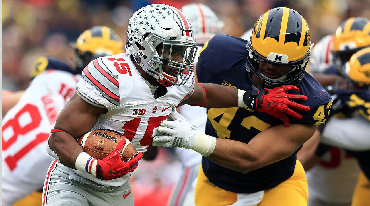 Ohio State's Ezekiel Elliott is expected to be the first running back drafted, potentially as early as fourth to the Cowboys.