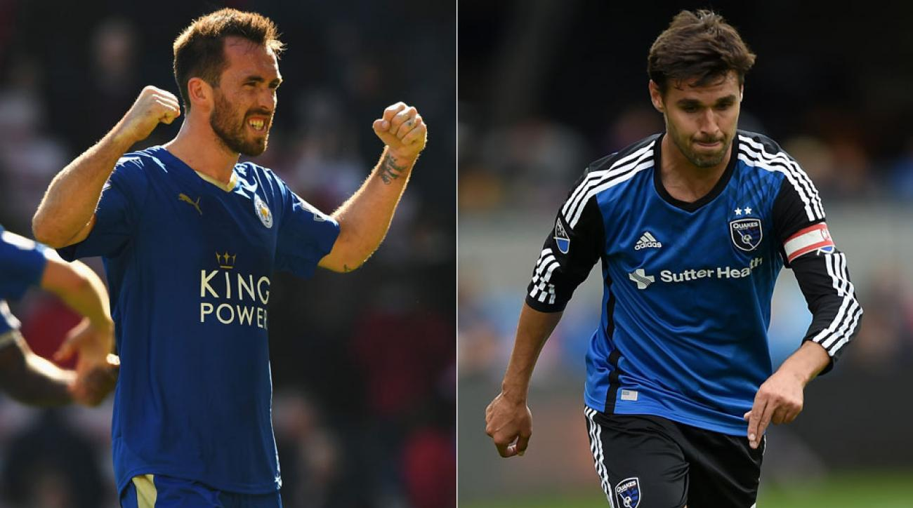 Leicester's Christian Fuchs, San Jose's Chris Wondolowski join our new podcast