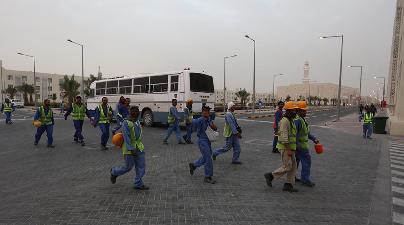 qatar world cup 2022 fifa labor conditions panel
