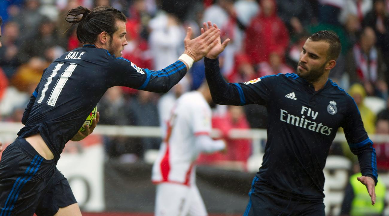 real madrid rayo vallecano gareth bale