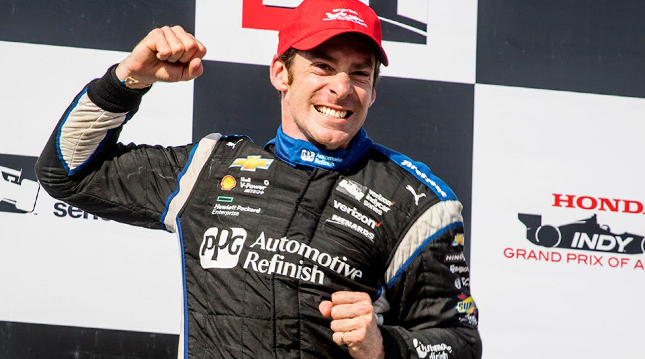 Simon Pagenaud wins at Barber Motorsports