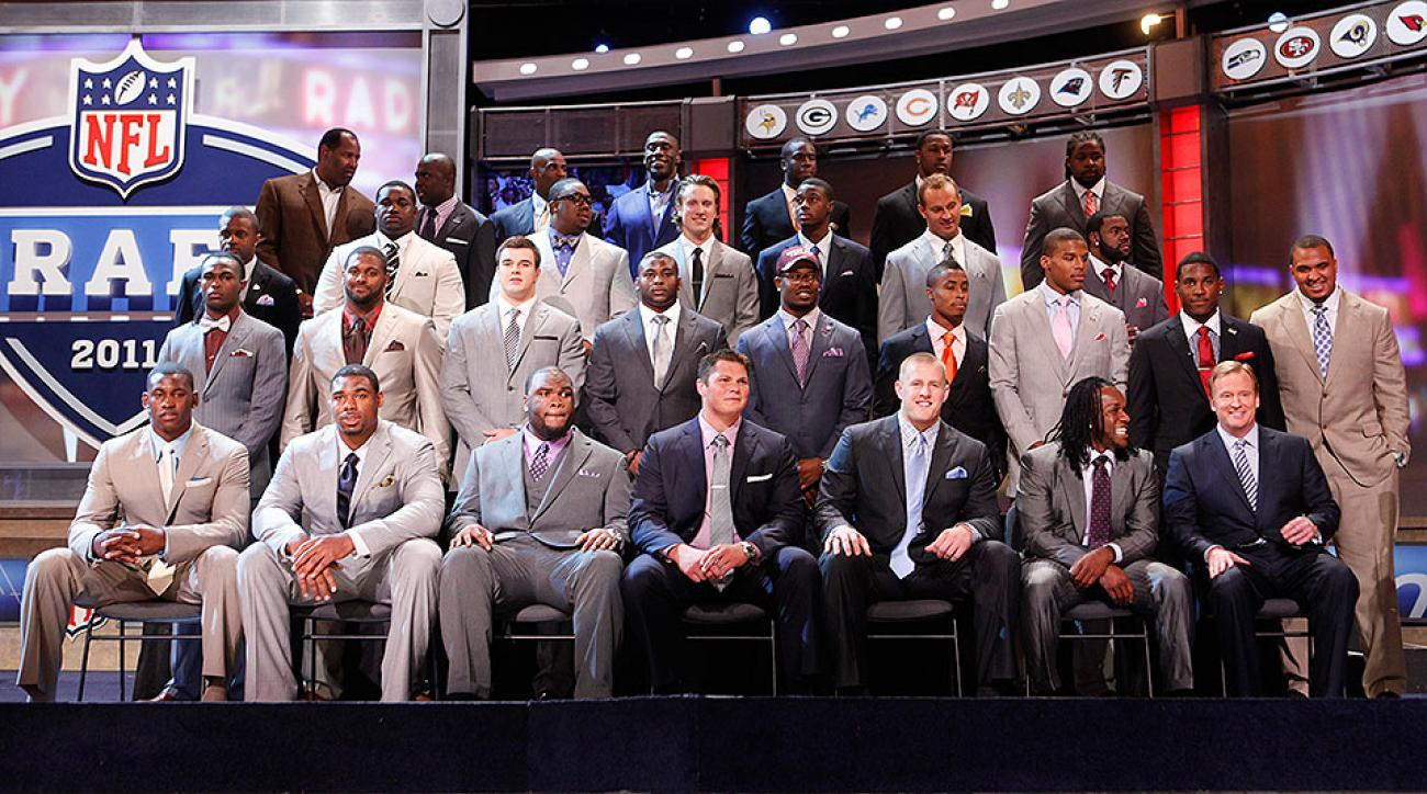 2011 NFL draft: Cam Newton, Von Miller, J.J. Watt all part of legendary Round 1 class