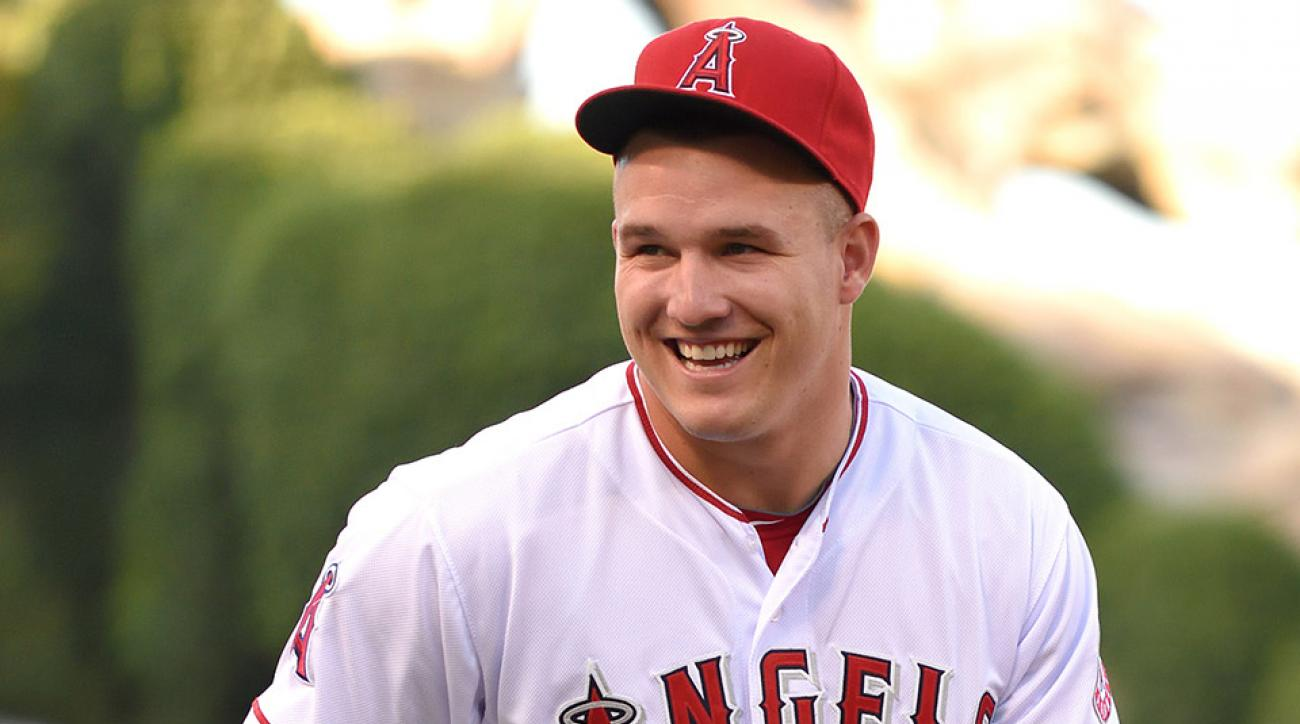 angels mike trout weather report video