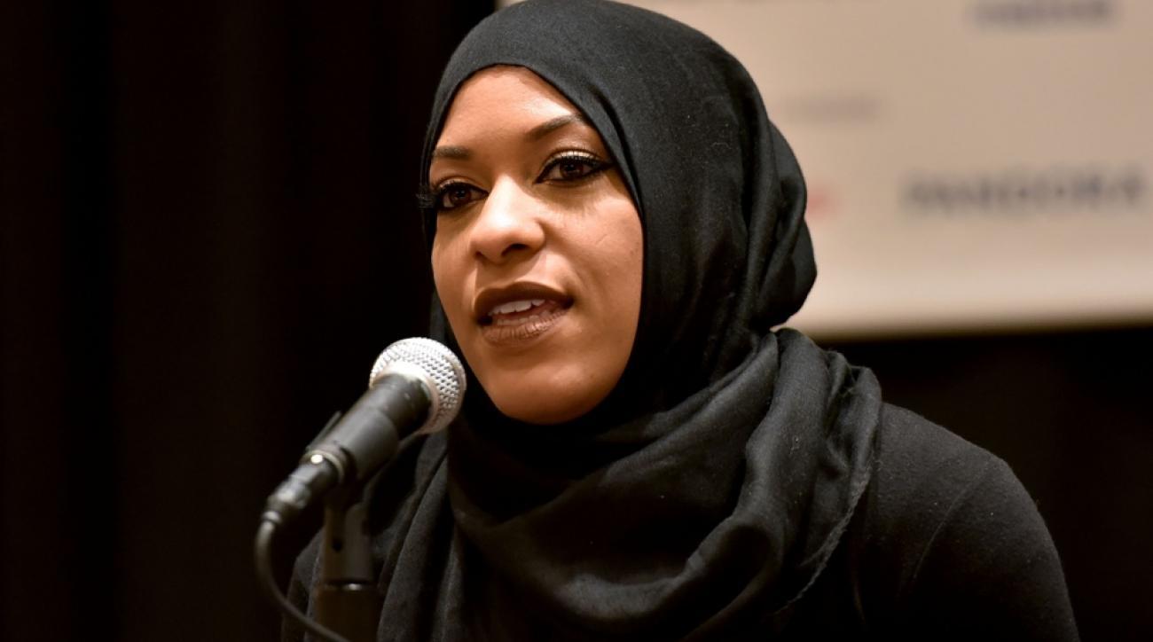 ibtihaj muhammad hijab sxsw incident video