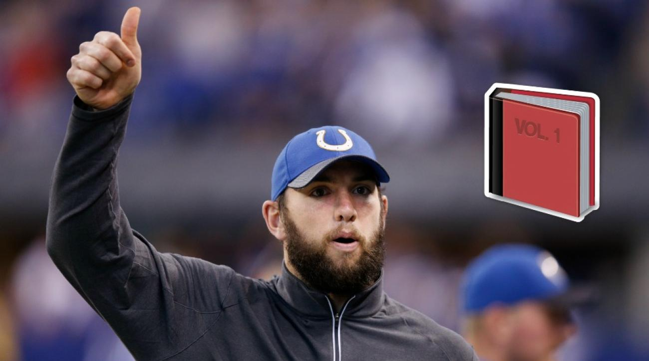Indianapolis Colts' Andrew Luck is starting a book club