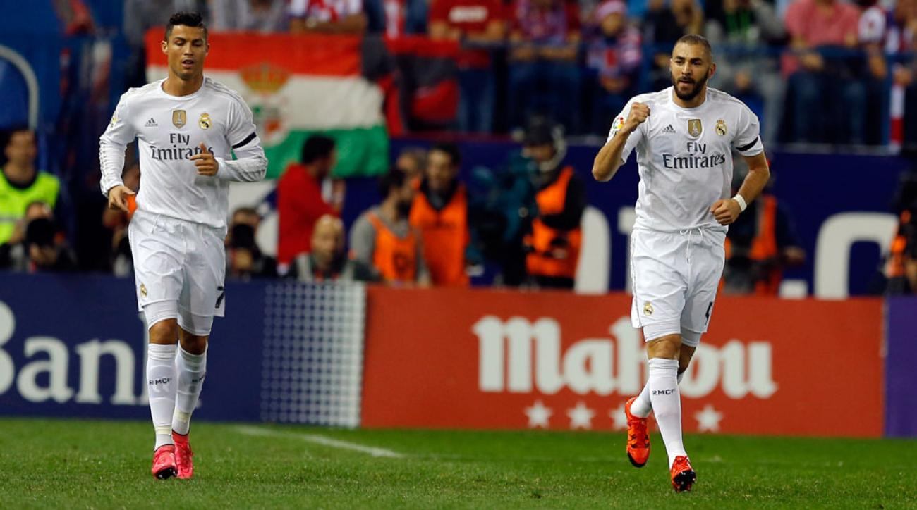 Real Madrid's Cristiano Ronaldo, Karim Benzema should be fit to face Manchester City in Champions League