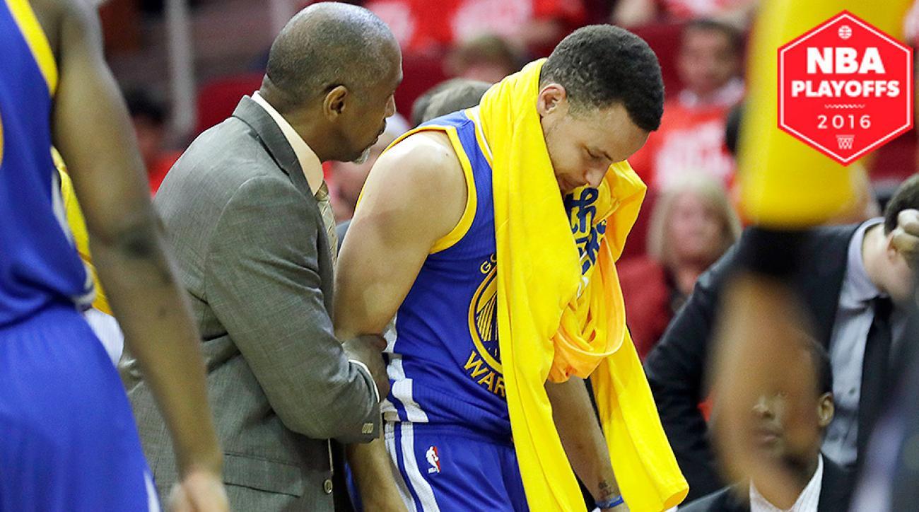 stephen-curry-knee-injury-warriors-rockets-game-4-nba-playoffs-analysis